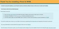 cPanel/WHM Lisans Yenileme – Güncelleme Kodu