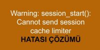 OpenCart Warning: session_start() Hatası Çözümü