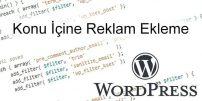WordPress Yazı İçine Reklam Ekleme