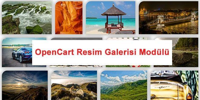 opencart resim galerisi modülü