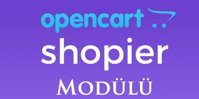 opencart shopier modülü