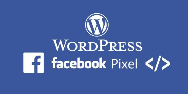 wordpress facebook pixel ekleme